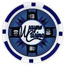 Batman's Wayne Casino Collectors Edition $10 Poker Chip Blue Colored Variant