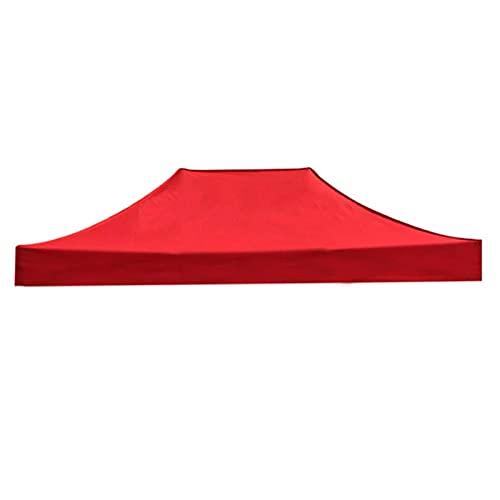 QAQWER Techo de Reemplazo 2.9x4.3m Cubierta de Repuesto para Pabellón de Jardín, Material de Tela Oxford Impermeable y Protector Solar, Techo de Reemplazo para Carpa Pabellon Toldo