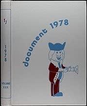 (Custom Reprint) Yearbook: 1978 Thomas Jefferson High School - Document Yearbook (Dallas, TX)