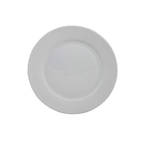 Retsch Arzberg 190070271 Classico Speiseteller Ø 27 cm, Porzellan, weiß (1 Stück)