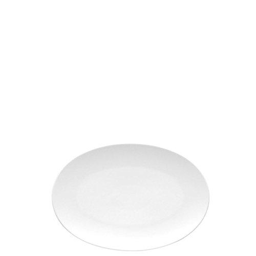 Rosenthal 11280-800001-12725 TAC Gropius Platte/Servierteller - Porzellan - weiß - Ø 25 cm