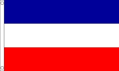 Vlag Wholesaler Serbia and Montenegro vlag, meerkleurig, Large