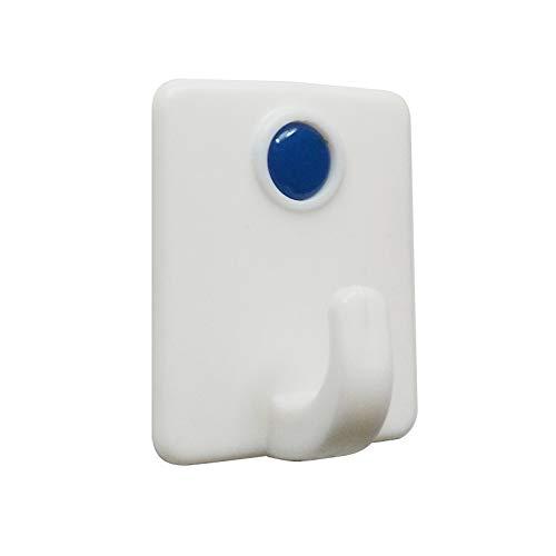 QAZLP Gancho autoadhesivo fuerte de plástico fuerte para toallas de baño, marco...