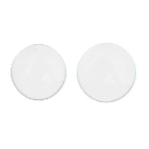 Cristal de reloj de doble cúpula cóncavo, con bordes biselados pulidos, lente súper transparente, ajuste directo, adecuado para relojeros y trabajadores de reparación de relojes. (30 + 32)