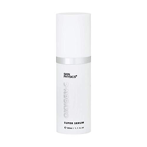 Crema hidratante antiarrugas facial. OXYGEN-C Super Serum. Anti-envejecimiento total, control de estrés. Combate las arrugas/líneas, la piel flácida, manchas oscuras, enrojecimiento. 30 ml