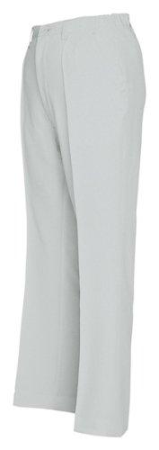 アイトス レディースシャーリングパンツ(1タック)(春夏用) AZ-5553 003 シルバーグレー 3Lサイズ