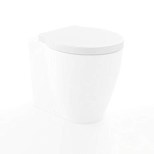 Copriwater sedile frenato per sanitari bagno Easy Bath di Cielo Ceramica bianco