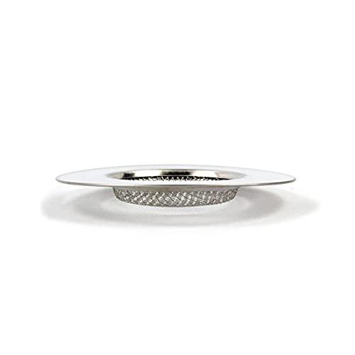 ZADAWERK® Abflusssieb - Fein - Ø 7 cm flach - 3 Stück - Dusche, Waschbecken, Spüle