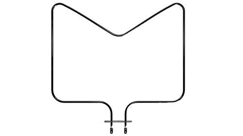 Elemento calefactor como Whirlpool 480121100591 calor inferior EGO 20.41222.000 1150 W 230 V para horno