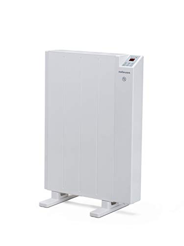 Mellerware - Emisor térmico bajo consumo, programable 3 Modos Calefactor eléctrico con sistema antivuelco y calefacción función ventana abierta. (Small)
