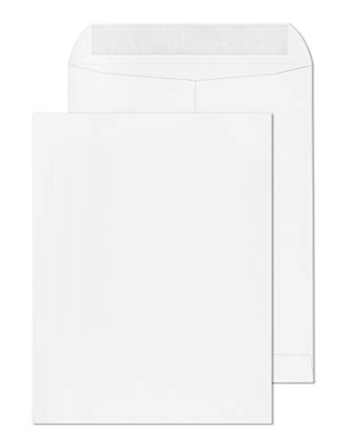 10x13 Envelopes Self Seal, Open End, Catalog, Mailing and Shipping-Business Letters/Invitations - 10 x 13 Large Envelope 28LB Color Bright White 15 Pack (10 x 13)