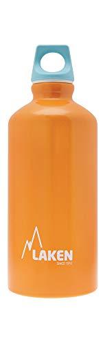 Laken Unisex - Adulto Futura Alluminio Arancione 1 Litro, BPA Free Alluminio Bottiglia PBA