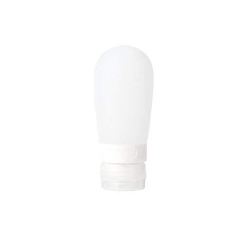 Kunyun 1 botella recargable de silicona portátil de 38 ml, 60 ml, 80 ml, botella vacía de embalaje de viaje para loción champú cosméticos envases (color: 6, tamaño: 38 ml)