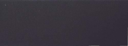 5 m Baumwollband 30 mm schwarz 100% Baumwolle