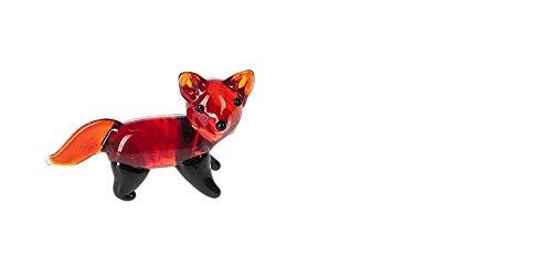 Miniature Glass Fox Figure - By Ganz