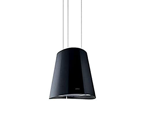 Hotte decorative ilot Elica PRF0071970 - Hotte aspirante Lustre - largeur 50 cm - Débit d'air maximum (en m3/h) : 600 - Niveau sonore Décibel mini. / maxi. (en dBA) : 47 / 67