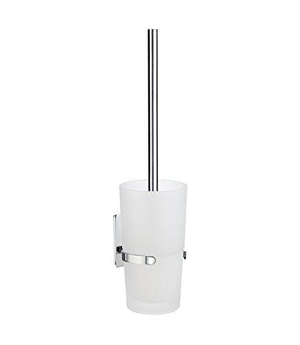 SMEDBO Toilet Brush Wallmount, Polished Chrome ZK333 Poolhalter mit WC-Bürste, silber, 10.199999999999999 x 11.8 x 38.799999999999997 cm