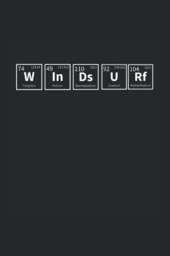 WINDSURF: Organisches Chemie Lab Notizbuch Heft für Studenten oder Lehrer  6x9 Zoll (A5) mit 120 punktraster Seiten, Softcover mit Matt.
