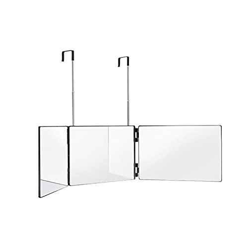 MOVKZACV Espejo de 360°, espejo de tocador triple, espejo cosmético portátil, 3...