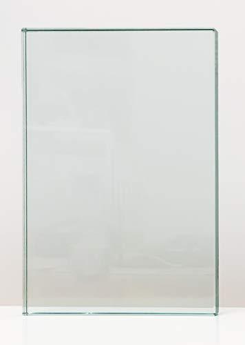 balkongeländer mit milchglas