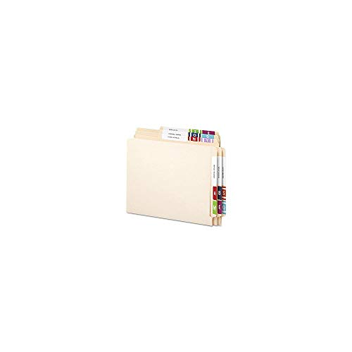 Smead Alpha-Z Color-Coded Second Letter Alphabetical Labels