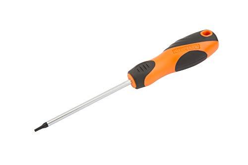 KENDO Schraubendreher (TX) - TORX 20 x 100 mm - Größe: T20 mm - Klingenlänge: 100 mm - Mit ergonomischem Soft-Touch Griff - TORX-Schraubenzieher