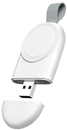 Charger for Apple Watch, Travel Car Charger, Portable USB Wireless Magnetic Fast Charging Compatible...