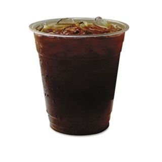 Bulk Compostable Cold Cups, 32oz PLA Cold Cups, GreenStripe Renewable: Eco-Products EP-CC32-GS (1200 Compostable Cold Cups)