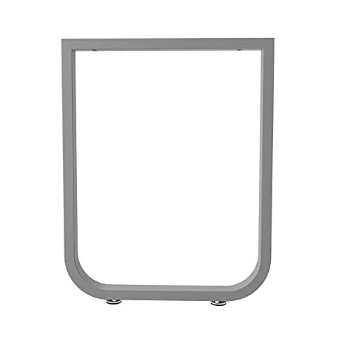 GEREP Patas de Mesa Industriales, Patas de Muebles con Tapete Ajustable, para Banco de Sala de Estar, Mesa de Comedor de Cocina/E / W55×H72.5cm