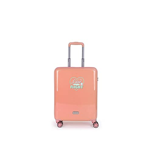 GABOL Trolley C22 Rose MR.Wonderful Maleta, Adultos Unisex, Rosa (Rosa), Talla Única