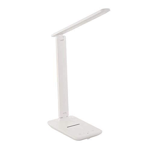 Lámpara LED de mesa regulable, inalámbrica, iluminación de habitación