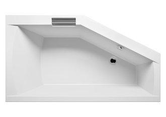 Badewanne Acryl Riho Eck links Geta 170x 90cm mit eine integrierte Griff