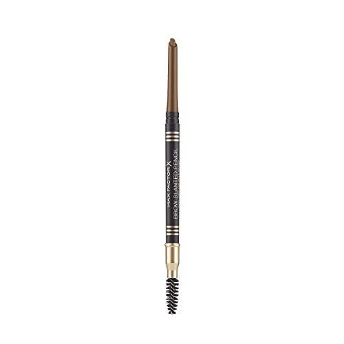 Max Factor N°02 Soft Brown Brow Slanted Pencil - Crayon A Sourcils Biseauté – Marron Doux - Rétractable Avec Brosse