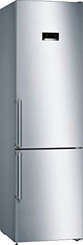 Bosch KGN39XIDQ Serie 4 Freistehende Kühl-Gefrier-Kombination / D / 203 cm / 191 kWh/Jahr / Inox-antifingerprint / 279 L Kühlteil / 89 L Gefrierteil / NoFrost / VitaFresh