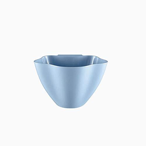 Coner keukenkastdeur Opknoping Vuilnis Vuilnisbak Kan vuilnisbak Opbergdozen Kast Hangende blikjes Vuilnisemmer, blauw, lt; 4L