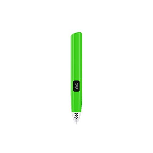 YB3DB Enfants 3d stylo d'impression réglable vitesse stylo graffiti créatif stéréo bricolage (Vert)