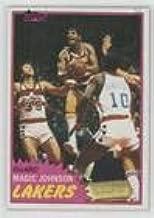 Magic Johnson (Basketball Card) 1981-82 Topps - [Base] #21