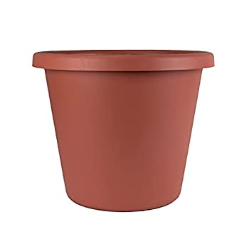 AKRO-MILS Classic Pots 9  outside dimension clay