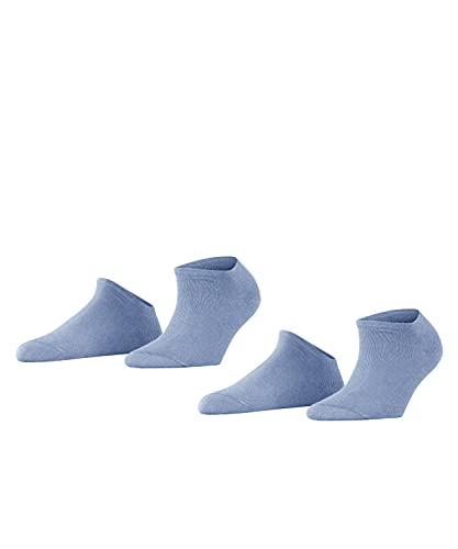 ESPRIT Damen Uni 2-Pack W SN Hausschuh-Socken, Blau (Jeans 6458), 39-42 (2er Pack)