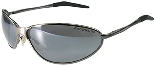 Mecara, Structure et Flash FX-Mirror verspiegelung Rapide dans Gunmetal Lunettes de Sport