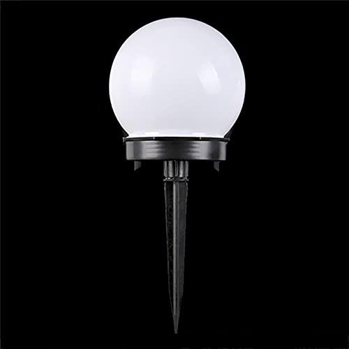 YSJJSQZ Adornos de jardín 5 PCS/Lot LED LED Powered Garden Light Impermeable Bulbo Aparcamiento Camping Luces Noche Luces Solar Paisaje Lámpara Luz Luz Luz (Emitting Color : White)