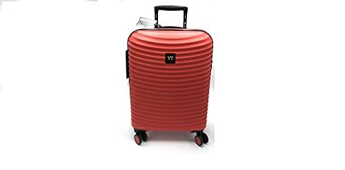 Trolley Grande Big WAV-18003 ynot Y not? rigido 4 ruote policarbonato rosso