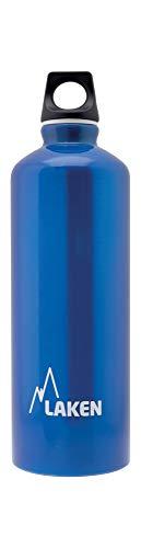 Laken Futura Botella de Agua, Cantimplora de Aluminio Boca Estrecha 0,75L, Azul