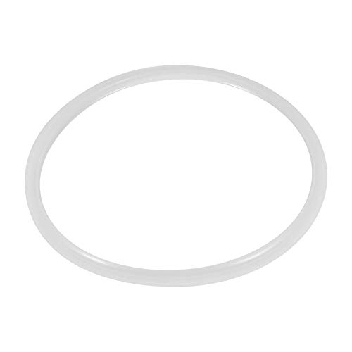Anillos de Sellado de La Junta de Silicona para Olla de Olla a Presión, Accesorio de Cocina Herramienta de Cocina Blanca Transparente Común(Diámetro22CM)