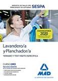 Lavandero/a y Planchador/a del Servicio de Salud del Principado de Asturias (SESPA). Temario y test parte específica