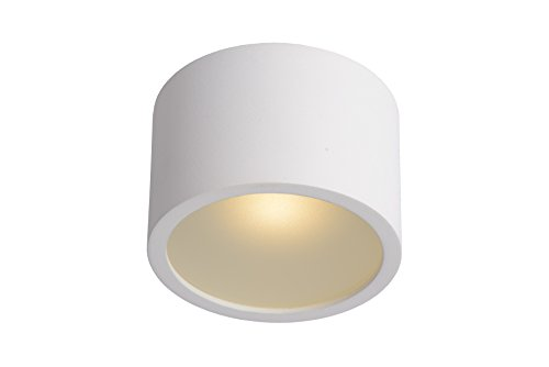 Lucide LILY - Spot Plafond Salle de bains - Ø 8 cm - G9 - IP54 - Blanc