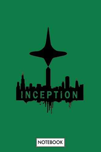 Inception Notebook: Planner, Lined College Ruled Paper, 6x9 120 Pages, Matte Finish Cover, Journal, Diary