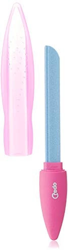 CREDO Keramik-Nagelfeile POP ART, 3 Feilflächen, pink
