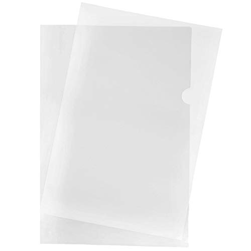 JAM PAPER Plastic Sleeves - Legal Size - 9 x 14 1/2 - Clear Project Pockets - 12 Page Protectors/Pack