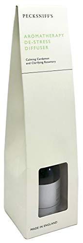 Pecksniff's Aromatherapy De-Stress Diffuser - Calming Cardamon & Clarifying Rosemary - 3.3 fl oz